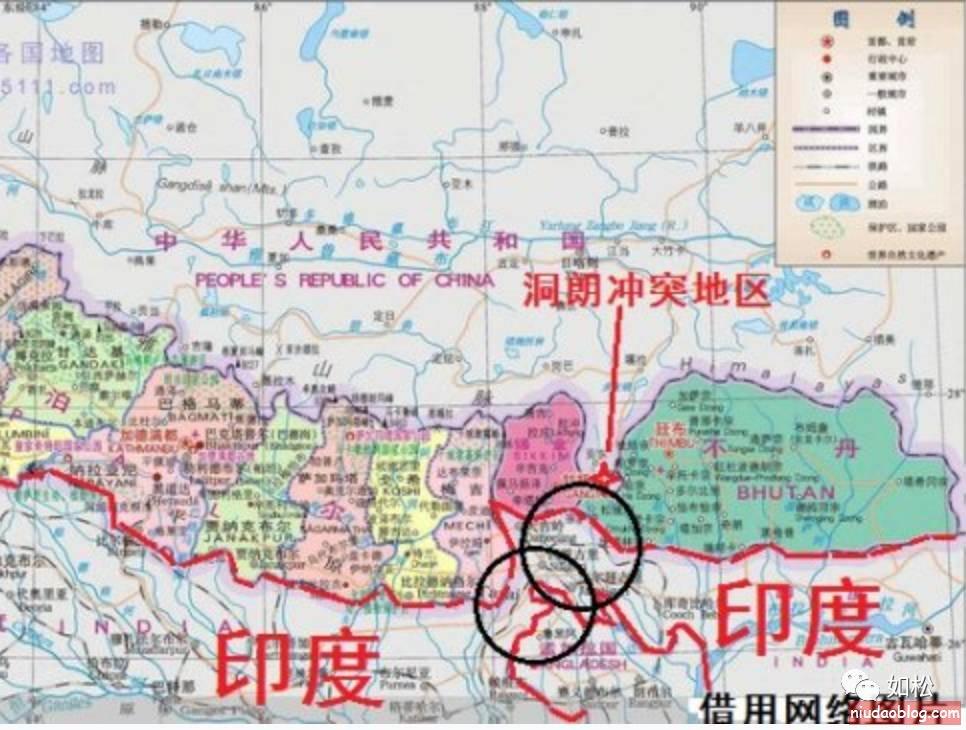 如松:中印之间,即是陆海空军的争夺,也是金融战 - niudaoblog.com